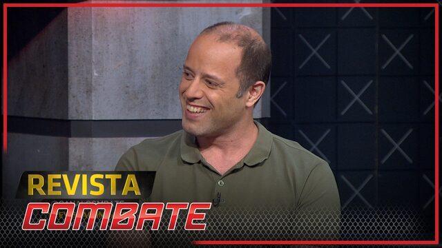 Luciano Andrade relembra treino com BJ Penn e diz que lutador deveria voltar à aposentadoria