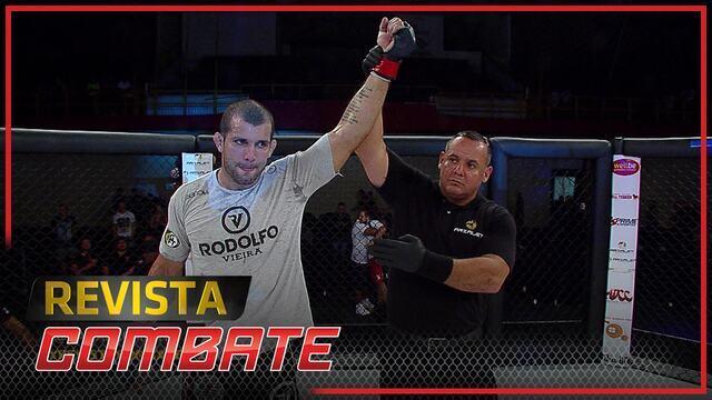 Rodolfo Vieira fala da estreia no MMA, que terminou com finalização em evento japonês