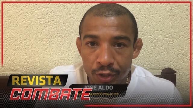 José Aldo ressalta combate novamente na capital carioca e acusa Holloway de ser só falastrão