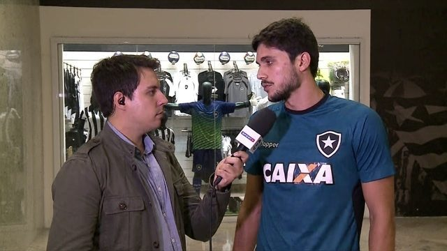 Igor Rabello vibra com chance no Botafogo  e sonha com título da Libertadores