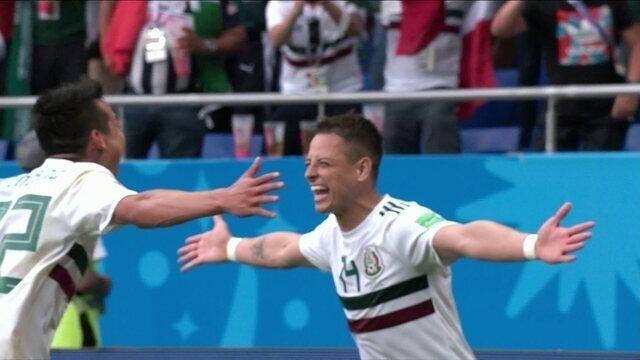 Melhores momentos: Coréria do Sul 1 x 2 México pela Copa do Mundo 2018