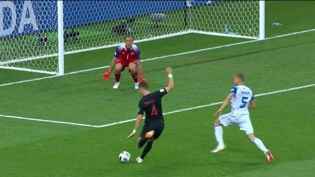 Os gols de Islândia 1 x 2 Croácia pela Copa do Mundo 2018
