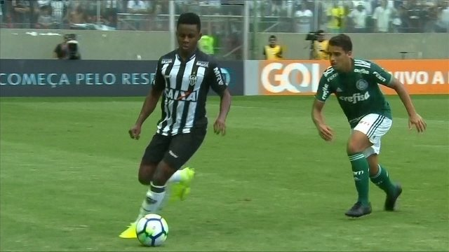 Os gols de Atlético-MG 1 x 1 Palmeiras pela 33ª rodada do Campeonato Brasileiro