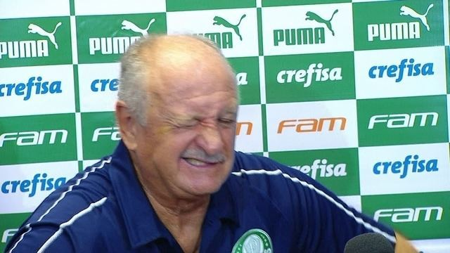 Felipão passa mal e deixa entrevista do Palmeiras em Campinas