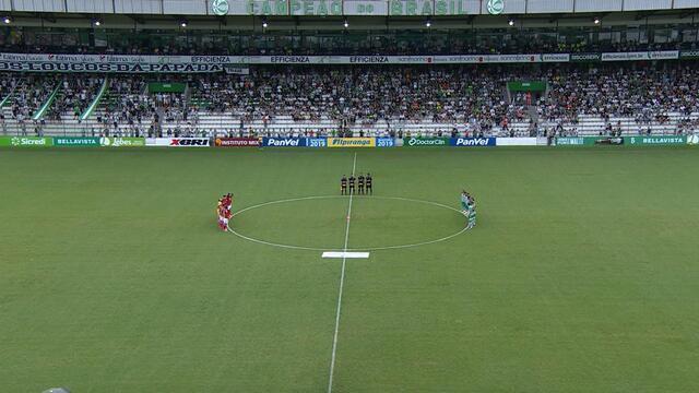 Juventude e Inter prestam homenagem às vítimas da tragédia no CT do Flamengo
