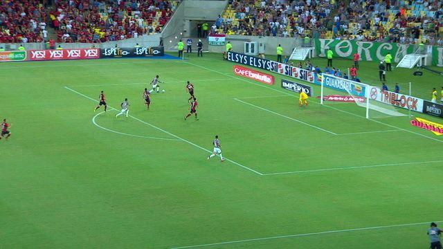 31aec5f46d7b1 Melhores momentos  Flamengo 0 x 1 Fluminense pela semifinal da Taça  Guanabara