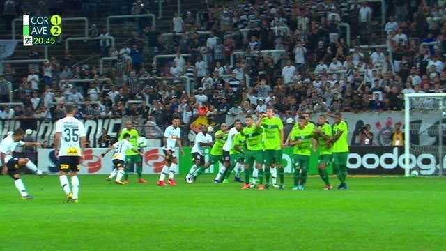 Melhores momentos: Corinthians 4 x 2 Avenida pela Copa do Brasil