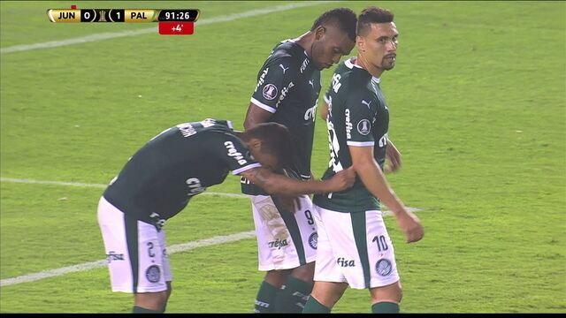 Melhores momentos: Junior Barranquilla 0 x 2 Palmeiras pela Taça Libertadores da América