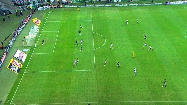 VAR aponta impedimento de Deyverson. Gol do Palmeiras não valeu! 35' 2ºT.