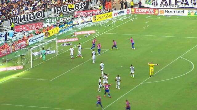 Confira os melhores momentos de Ceará 0 x 1 Fortaleza na final do Cearense