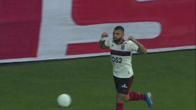 Gol do Flamengo! No contra-ataque, Gabigol empata o jogo, aos 39' do 2º Tempo