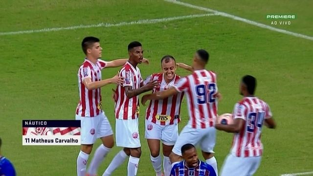 Gols de Vitória-PE 1 x 2 Náutico, pela 4ª rodada do Pernambucano