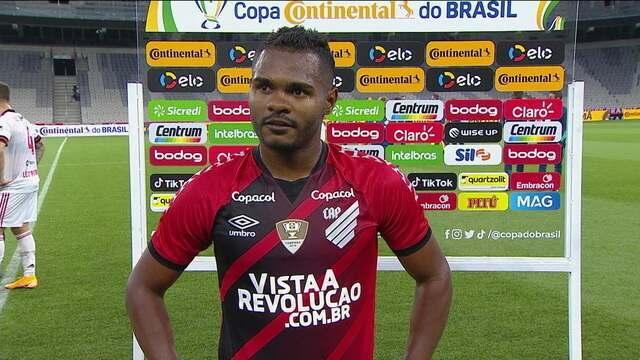 Nikão fala sobre a derrota do Athletico-PR para o Flamengo e o mau momento vivido pelo clube