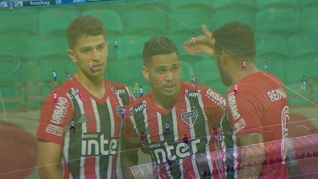 Melhores momentos: Bahia 1 x 3 São Paulo pela 23ª rodada do Brasileirão 2020
