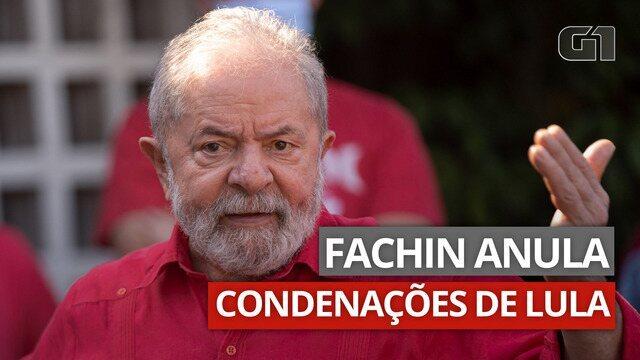 Fachin, ministro e relator do STF, anula condenações contra o ex-presidente.