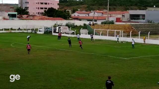 Gol do Flamengo-PI! Waldir recebe de Barata e marca sobre o Picos