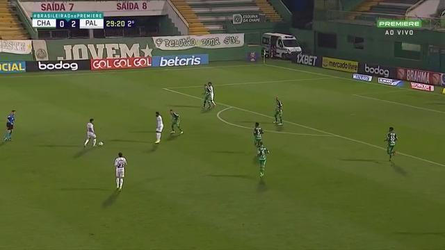 Melhores momentos: Chapecoense 0 x 2 Palmeiras pela 21ª rodada do Brasileirão
