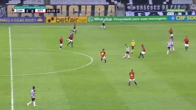 Melhores momentos: Atlético-MG 3 x 0 Sport pela 21ª rodada do Brasileirão
