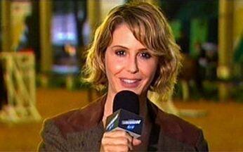 Guilhermina Guinle em dia de repórter para o Vídeo Show - Atriz participa do Athina Onassis Horse show