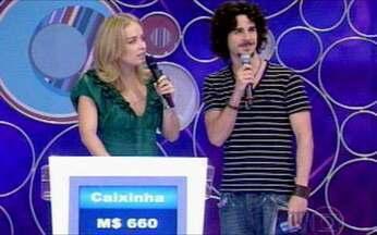 Pedro Neschling participa do Vídeo Game - Ator do seriado Aline tem uma missão especial no quadro de Angélica.