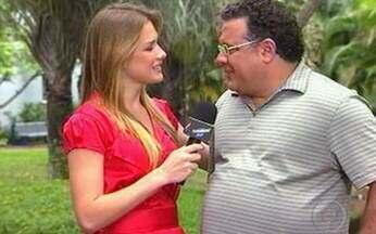 Leo Jaime fala sobre as gravações de Amor e Sexo - Cantor participou ao vivo do Vídeo Show desta sexta-feira, 30.