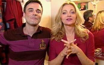 Vídeo Show confere a peça 'A História de Nós 2' - Marcelo Vale, o Osmar de Viver a Vida, está no elenco.