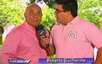 André Marques entrevista Roberto Guilherme - Ator trabalha há mais de 40 anos com Didi.