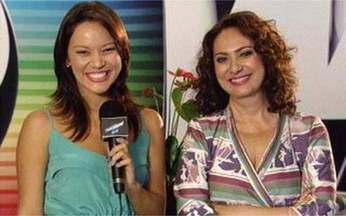 Geovanna Tominaga entrevista Eliane Giardini - Atriz conversa com Vídeo Show nos bastidores de Tempos Modernos.