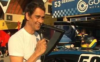 Marcello Antony mostra o universo de Gerson nas corridas de Stock Car - Marcello Antony mostra o universo de Gerson nas corridas de Stock Car.