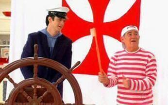Aventuras do Didi - episódio de 11/07/2010, na íntegra - Didi decide se casar, mas se assusta ao conhecer a noiva. Ele encontra o Padre Fábio de Melo. Mateus Solano é o professor particular do atrapalhado Didi, que agora resolveu tornar-se marinheiro.