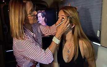 Maquiadora dá dicas importantes às candidatas do Menina Fantástica - A maquiadora Cristina Bollani ensina como fazer uma maquiagem de arrasar para usar no dia a dia e, para ir na seletiva! E a sexta seletiva do concurso de 2010 acontece sábado, no Rio de Janeiro.