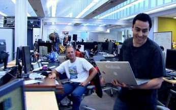 Geração Y cria e dirige empresas de sucesso no Brasil e no exterior - Na quarta reportagem da série Gerações, nossos repórteres no Brasil e nos Estados Unidos foram descobrir o que é que essas empresas têm. Entramos até na sede do Facebook.
