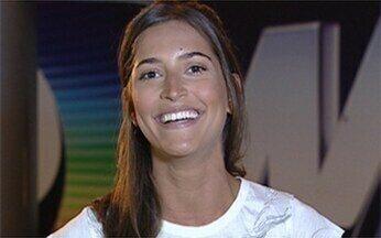 Maria Joana dá sua dica de beleza - A atriz de Araguaia recomenda o uso de rímel para ficar mais bela