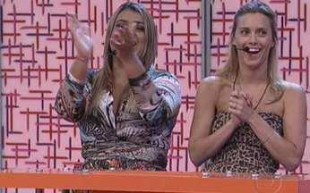 Vídeo Game: começa nova rodada do game! - Angélica recebe quatro belas para divertir o programa