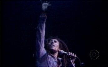 Reveja o clipe de Bob Marley que foi ao ar no Fantástico - Cantor ficou famoso por popularizar o reggae no mundo todo