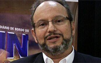 Vídeo Show News: Ernesto Paglia lança livro ´O Diário de Bordo do JN no Ar´ - O ator Tiago Mendonça conduziu uma entrevista com a autora Glória Perez