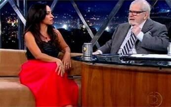 """Atriz Suzana Pires fala de sua carreira - Além de atuar ela é uma das autoras da série """"Os Caras de Pau""""."""