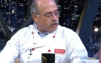 Cozinheiro István Wessel lança dois livros - 'Quem tem pressa come cru' e 'Churrasco, dando nome aos bois' trazem crônicas e receitas práticas.