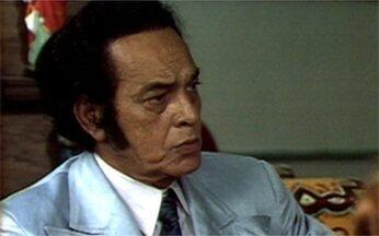 Personagens de Paulo Gracindo prestam homenagem ao ator - Mestre da teledramaturgia completaria 100 anos neste sábado