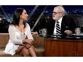 Jô Soares entrevista a atriz Veridiana Toledo - Ela já foi vendedora, babá e faxineira. Hoje é atriz e divide essas experiências engraçadas no programa.