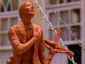 Vinheta de 1985 foi gravada em 'Asa Branca', com elenco de Roque Santeiro - Vídeo Show adora rever as vinhetas antigas produzidas pela Rede Globo