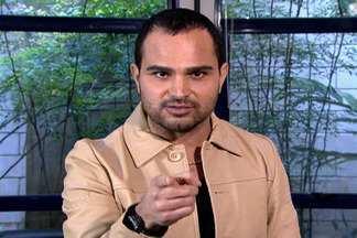 Seu Pedido É Uma Ordem: Luciano pede relembrar época de assistente do Vídeo Show - 'Ganhei até crachá', lembra o cantor sertanejo
