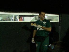 """Portuguesa e Bragantino empatam na """"terra da linguiça"""" - No tradicional estádio de Bragança, os times fizeram bom jogo, mas ninguem saiu vitorioso."""