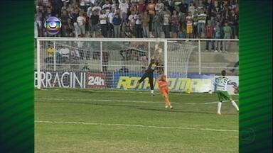 Belo Jardim bate o Serra Talhada por 2 a 0 - Calango conseguiu sua segunda vitória consecutiva