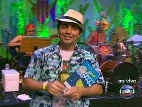 """Com 43% dos votos, """"Papagaio no Arame"""" ganha o concurso de marchinhas - O autor Fábio Simões agradeceu os criadores do concurso e desejou um feliz Carnaval. Ele agradeceu a todos que votaram nele."""