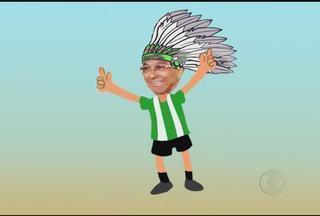 De jeito sério, mas com o carnaval na origem, Givanildo Oliveira quer ser líder do Mineiro - Nesta quarta, depois do Big Brother Brasil, a TV Globo Minas mostra Nacional x América-MG, partida que pode dar a liderança ao time de Givanildo Oliveira.