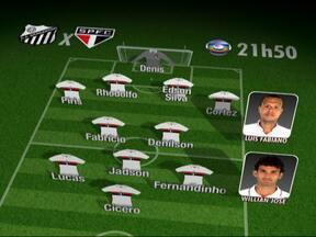 Sem Wellington, Leão monta o São Paulo com Piris na lateral direita - Cícero será o centroavante do time contra o Bragantino.
