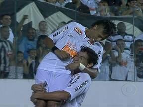 Santos vence o Ponte Preta pelo Campeonato Paulista - Pelo Campeonato Paulista, o Corinthians venceu o Botafogo de Ribeirão Preto com um gol de Adriano. E o Santos ganhou do Ponte Preta com um gol lindo de Neymar.
