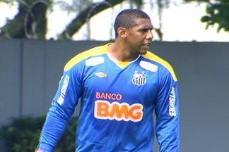 Pelo Santos, Aranha reencontra rival da época de Ponte Preta - Goleiro do Santos espera que o time vença o Guarani, nesta quarta-feira, assim com fez contra a Ponte Preta no último fim de semana.