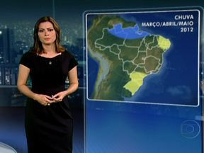 Previsão é de muito calor na sexta-feira (02) - Em São Paulo, a mínima deve ser de 24ºC. No Rio, os termômetros podem marcar até 36ºC. No Sul do Brasil, as temperaturas caem, mas continuará quente. Aos poucos, a frente fria que está no Sul se afasta.